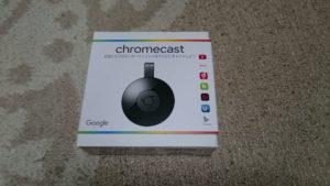Chromecast2のパッケージ