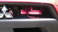 YR-Advance ランエボX用エアクリ導風板で吸気効率アップ