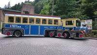 生涯青春の湯 つるつる温泉行きトレーラーバス青春号に乗ってきた