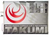 TAKUMIモーターオイルの代表性状