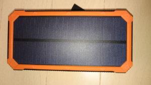 モバイルバッテリー ソーラーパネル側