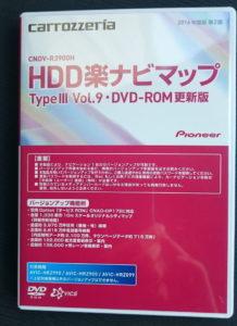 楽ナビの更新用DVD