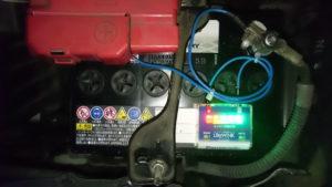 N-40B19L/SBのLifeWinkがフル点灯