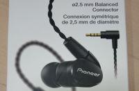 バランス接続のハイレゾ対応カナル型イヤホン パイオニア SE-CH5BLを買った