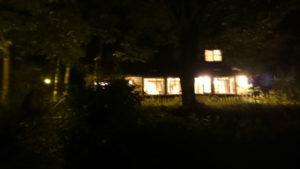 リッツ・イン清里の夜の外観