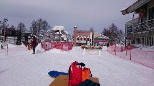 斑尾高原スキー場のキッズパーク
