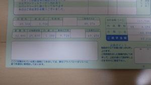車検の支払い合計