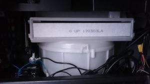 MONOTAROのエアコンフィルターに交換