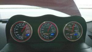 油温計の数値