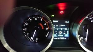 サーキット走行時の燃費は悪い