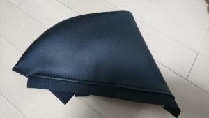 PVC高耐久ソフトレザーブラックのロアサイドカバー