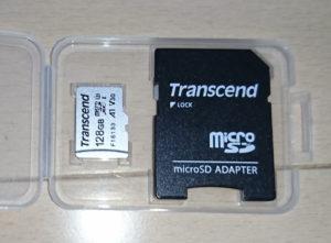 Transcend マイクロSDカード 128GB UHS-I U3対応