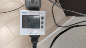 中華アンプの消費電力は少ない