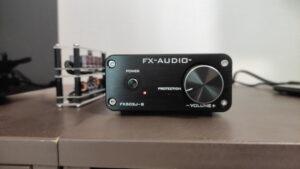 FX-AUDIO FX-502J-Sのフロント