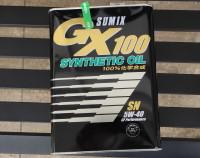 100%化学合成油のSUMIX GX100をリピートした