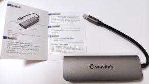 WAVLINK USBハブ Type CミニドッキングOTG機能PD 65W充電 5-in-1